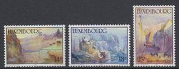 Luxemburg 1991 Paintings 3v ** Mnh (42712) - Luxemburg
