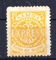 Sello Nº 5  Samoa - Samoa