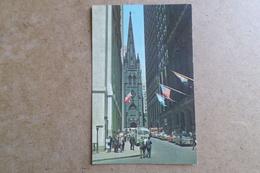 NEW YORK CITY - Wall Street -  Voitures, Car, Autos  ( Etats Unis ) - Wall Street