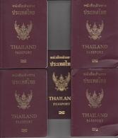 Passport. Passeport, Reisepass, Paspoort Thailand Biometrisch  5X - Historical Documents