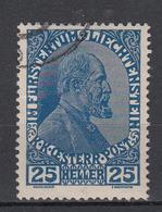 LIECHTENSTEIN - Michel - 1912 - Nr 3ya - Gest/Obl/Us - Liechtenstein