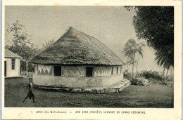 CCEANIE - Iles WALLIS - Lano - Une Case Indigène - Wallis-Et-Futuna