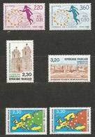 1675-Timbres De Service, N° 100 à 105 ** T.B. - Officials
