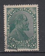 LIECHTENSTEIN - Michel - 1918 - Nr 10 - Gest/Obl/Us - Liechtenstein