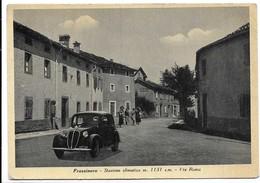 Frassinoro (Modena). Via Roma. Auto, Car, Voitures. - Modena