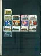 GRANDE BRETAGNE ARCHITECTURE-VOILES-TRAINS UIP 14 VAL NEUFS A PARTIR DE 0.80 EUROS - 1952-.... (Elisabetta II)