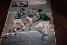 MIROIR-SPRINT 1950 30 Janvier, XV De France Et Irlande, Basket à L'Américaine, Patinage Artistique, Foot - Sport