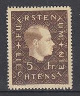 LIECHTENSTEIN - Michel - 1939 - Nr 185 - MH* - Liechtenstein