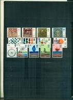 GRANDE BRETAGNE NOEL 76-CHIMIE-COMMONWEALTH-ENERGIE 13 VAL NEUFS A PARTIR DE 0.80 EUROS - 1952-.... (Elisabetta II)