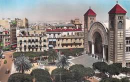 Algérie > ORAN La Place Jeanne D'Arc ( Editions : C-A-P N° 1292) *PRIX FIXE - Oran