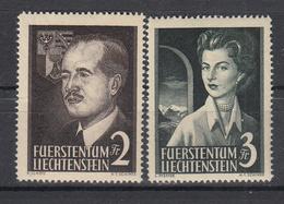 LIECHTENSTEIN - Michel - 1955 - Nr 332/33 - MNH** - Liechtenstein