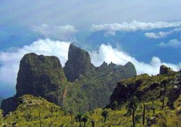 1 AK Äthiopien Ethiopia * Der Simien National Park - Seit 1978 Weltnaturerbe Der UNESO * - Äthiopien