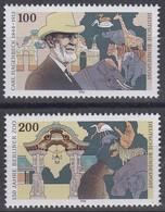 1734-1735 Einzelmarken Aus Block 28 Carl Hagenbeck & Berliner Zoo 1994, Satz ** - Ohne Zuordnung