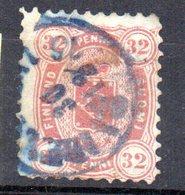 Sello Nº 20  Finlandia - 1856-1917 Administración Rusa