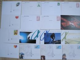 LOT D'ENTIERS CARTES DE FRANCE NEUFS - Stamps