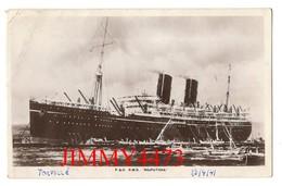 "CPA Datée De 1929 - P. & O. R M S  "" RAJPUTANA "" Ocean Trading Co Southampton - A Real Bromide Photograph - Steamers"