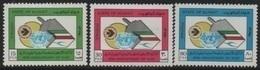 Kuwait 1984 (40th/e) Anniversary-Anniversaire-Jahrestag OACI-ICAO (Aviation Civile-Civil Aviation) ** - Kuwait