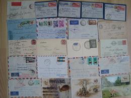 LOT DE DOCUMENTS COLONIES ET ETRANGER - Stamps