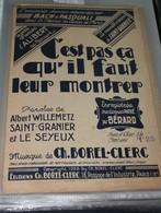 """Partition De """" C'est Pas ça Qu'il Faut Leur Montrer"""" - Partitions Musicales Anciennes"""