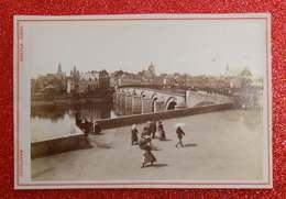 1876-1890 - Photo Format Cabinet Maestricht Nederland Pays-Bas Dos Scanné éditeur Théod Weynen - Old (before 1900)