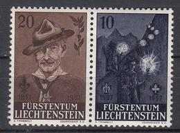 LIECHTENSTEIN - Michel - 1957 - Nr 360/61 - MH* - Liechtenstein