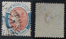 New South Wales 1863 Registered - Oblitérés