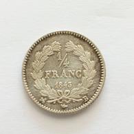 1/4 Franc 1843 B Louis Philippe Argent - France