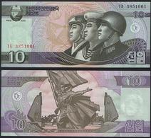Korea North P 59 - 10 Won 2002 2009 - UNC - Korea (Nord-)