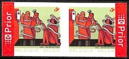 NB - [154662]TB//**/Mnh-Belgique 2006 - N° 3526, Secourisme, ND à Gauche Et Droite, Se Tenant, Permanent, Croix-Rouge, A - Unused Stamps
