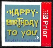 NB - [154721]TB//**/Mnh-Belgique 2006 - N° 3587a, Happy Birthday, ND à Droite, Permanent, Fêtes - Voeux, Adhésif, SNC - Unused Stamps