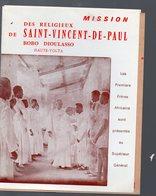 Haute-Volta : Documentation MISSION SAINT VINCENT DE PAUL Bobo Dioulasso (PPP18262) - Werbung