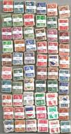 France - 6000 Timbres Petit Format (60 Bottes De 100) Pour étude Variétés Et Oblitérations - Sellos