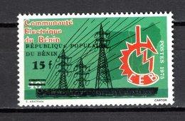 BENIN  N° 620  NEUF SANS CHARNIERE  COTE  4.00€ ELECTRICITE  VOIR DESCRIPTION - Bénin – Dahomey (1960-...)