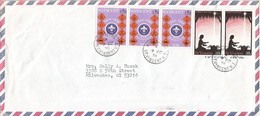St Vincent 1975 Kingstown Scouting Christmas Cover - St.Vincent (1979-...)