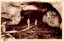 FONTESTORBES La Fontaine Intermittente -- La Source à Sec --  CPA Animée Ecrite En 1935 TBE - Autres Communes