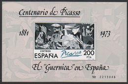 "Spain 1981 Pablo Picasso ""El Guernica"" M/s ** Mnh (42715    ) - Blokken & Velletjes"