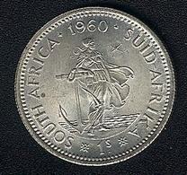 Südafrika, 1 Shilling 1960, Silber, UNC - South Africa