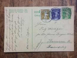 SWITZERLAND 1909 Postcard Lenzerheide Postmarks - Switzerland