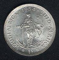 Südafrika, 1 Shilling 1954, Silber, UNC - South Africa