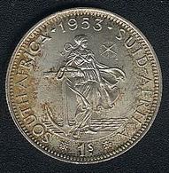 Südafrika, 1 Shilling 1953, Silber, UNC - South Africa