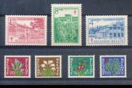 NB - [603359]TB//**/Mnh-c:54e-BELGIQUE 1950 - N° 834/40, Sanatorium, SC, Antituberculeux, Fleurs Diverses. - Belgium