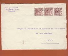 Lettre De Genève Du 21.12.1942 ->Lyon - Zensur/censored/Censure OKW X - Militaria