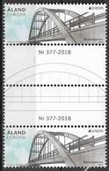 2018 Aland  Mi. 454 **MNH  Europa - Brücken. - 2018