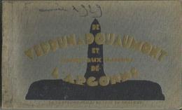 CARNET Complet De 20 Cartes Postales Anciennes DE VERDUN à DOUAUMONT Et Jusqu'aux Lisières De L'ARGONNE. - Unclassified