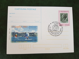 (38171) STORIA POSTALE ITALIA 2003 - 6. 1946-.. Repubblica