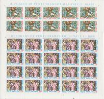 Vatican City 1980 Omnes Sancti 2v Sheetlets ** Mnh (F7837) - Vaticaanstad