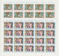 Vatican City 1980 Omnes Sancti 2v Sheetlets ** Mnh (F7837) - Ongebruikt