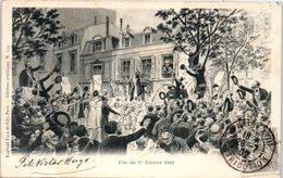 Célébrités - Ecrivains - Victor HUGO - Fête Du 27 Févriet 1881 - Writers