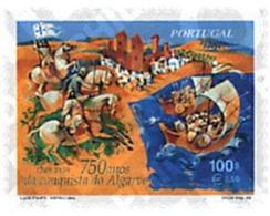 Ref. 86782 * MNH * - PORTUGAL. 1999. 750 ANIVERSARIO DE LA CONQUISTA DE ALGARVE - Pferde
