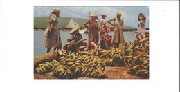 ANTILLES HAITI   A  SELLER  OF BANANAS  AT ORT AU PRINCE  ****          A  SAISIR **** - Haiti